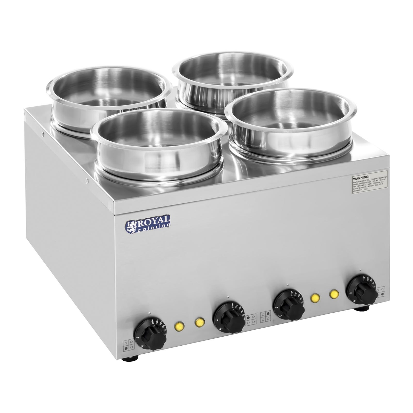 Commercial soup sauce food warmer bain marie four deep wet for Cuisson four bain marie