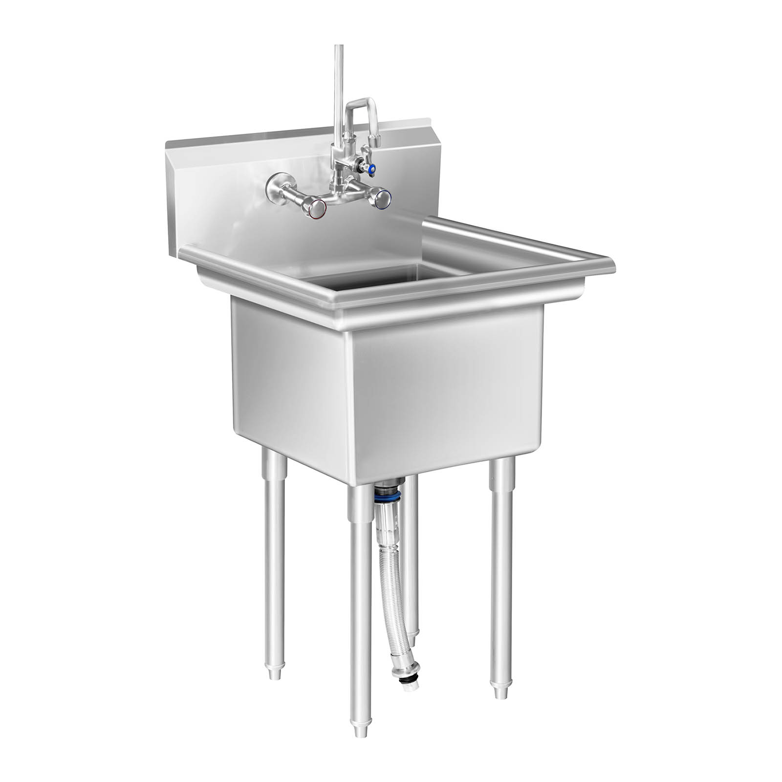 Commercial sink large kitchen sink unit 3 basin stainless steel commercial sink large kitchen sink unit 3 basin workwithnaturefo