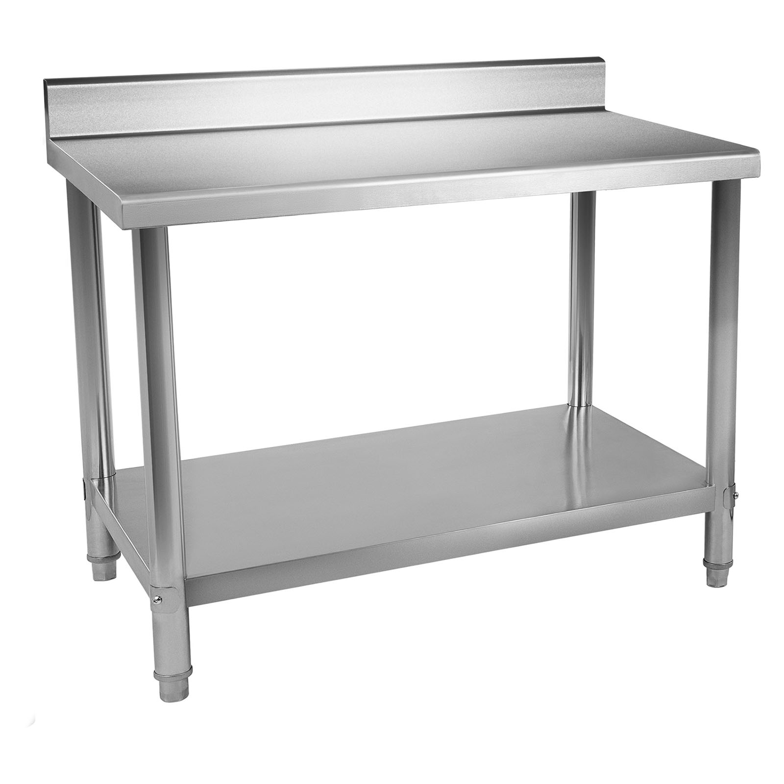 edelstahl arbeitstisch edelstahltisch k chentisch gastro tisch 120 x 60 cm profi ebay. Black Bedroom Furniture Sets. Home Design Ideas
