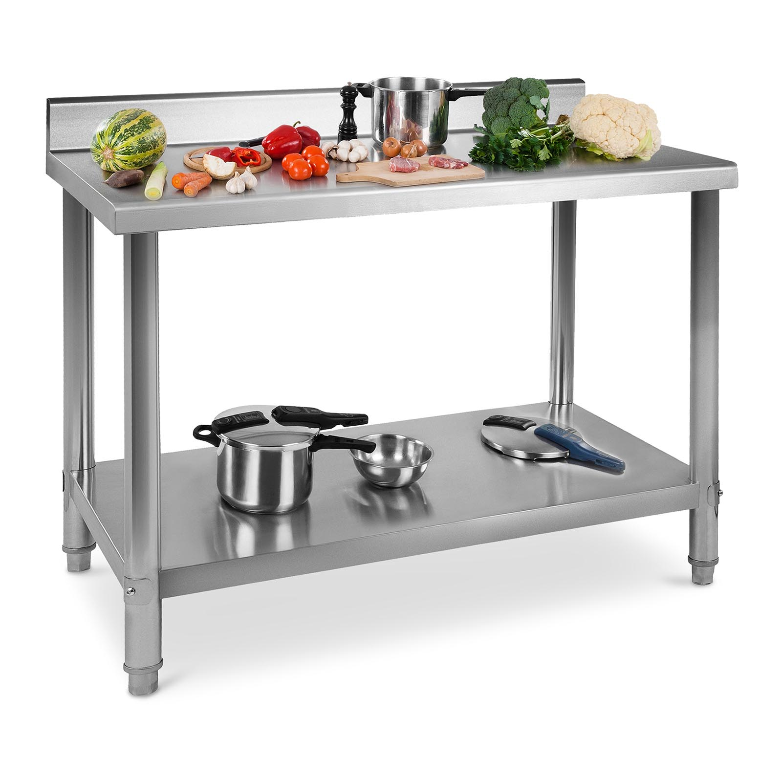 Commercial Stainless Steel Catering Work Table Kitchen