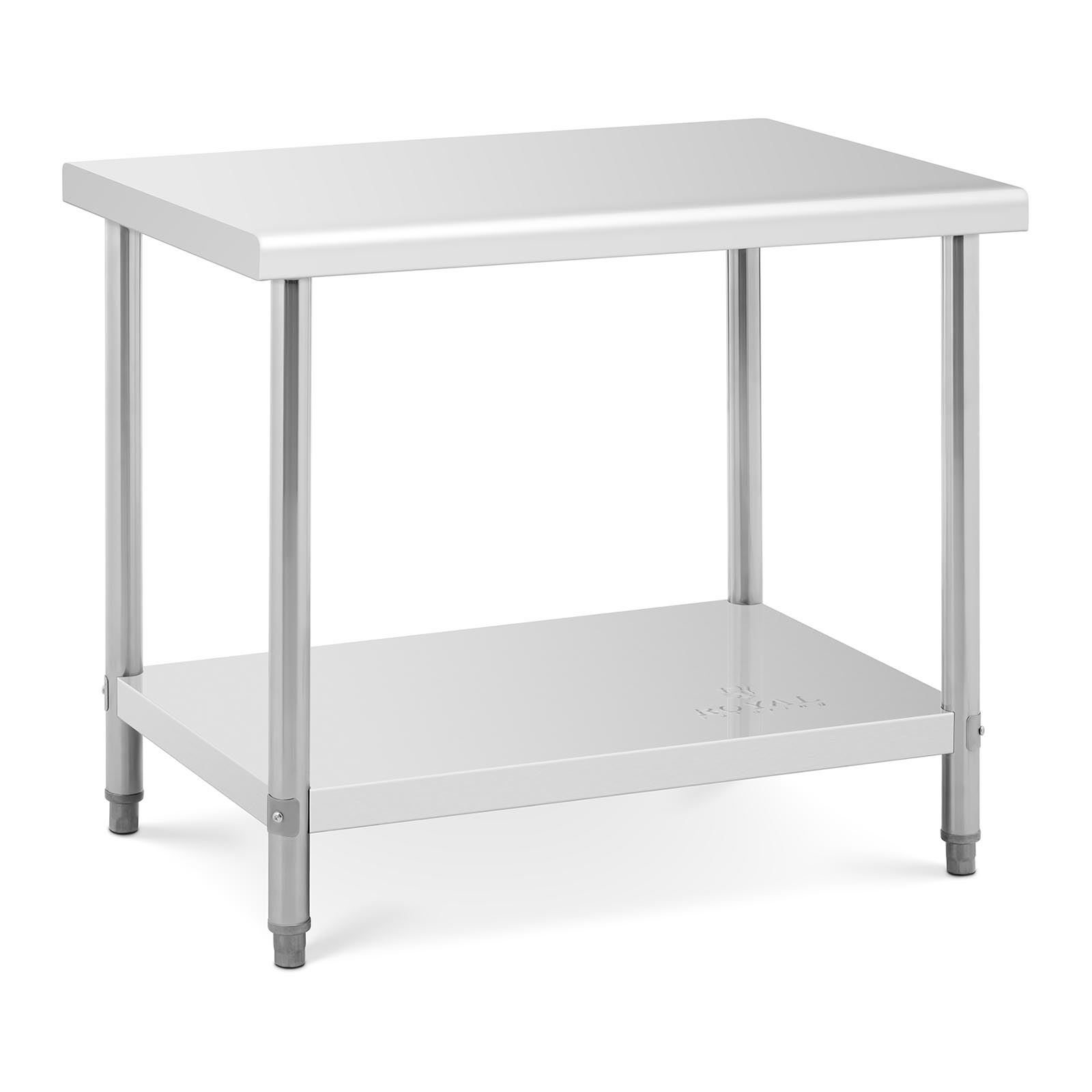 Kitchen Table With Food: Commercial Stainless Steel Catering Work Table Kitchen Food Work Bench Shelf
