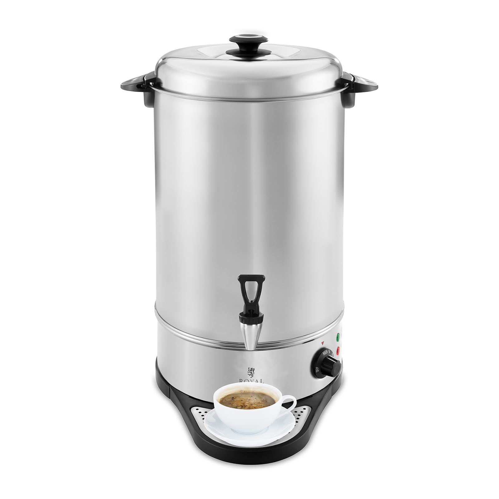 New Hot Water Urn Dispenser Stainless Steel Capacity Up To