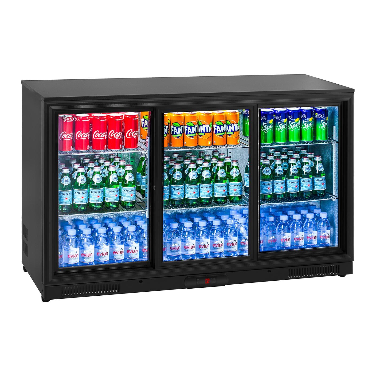 Getränkekühlschrank Flaschenkühlschrank Gastro Kühlschrank Glastür ...