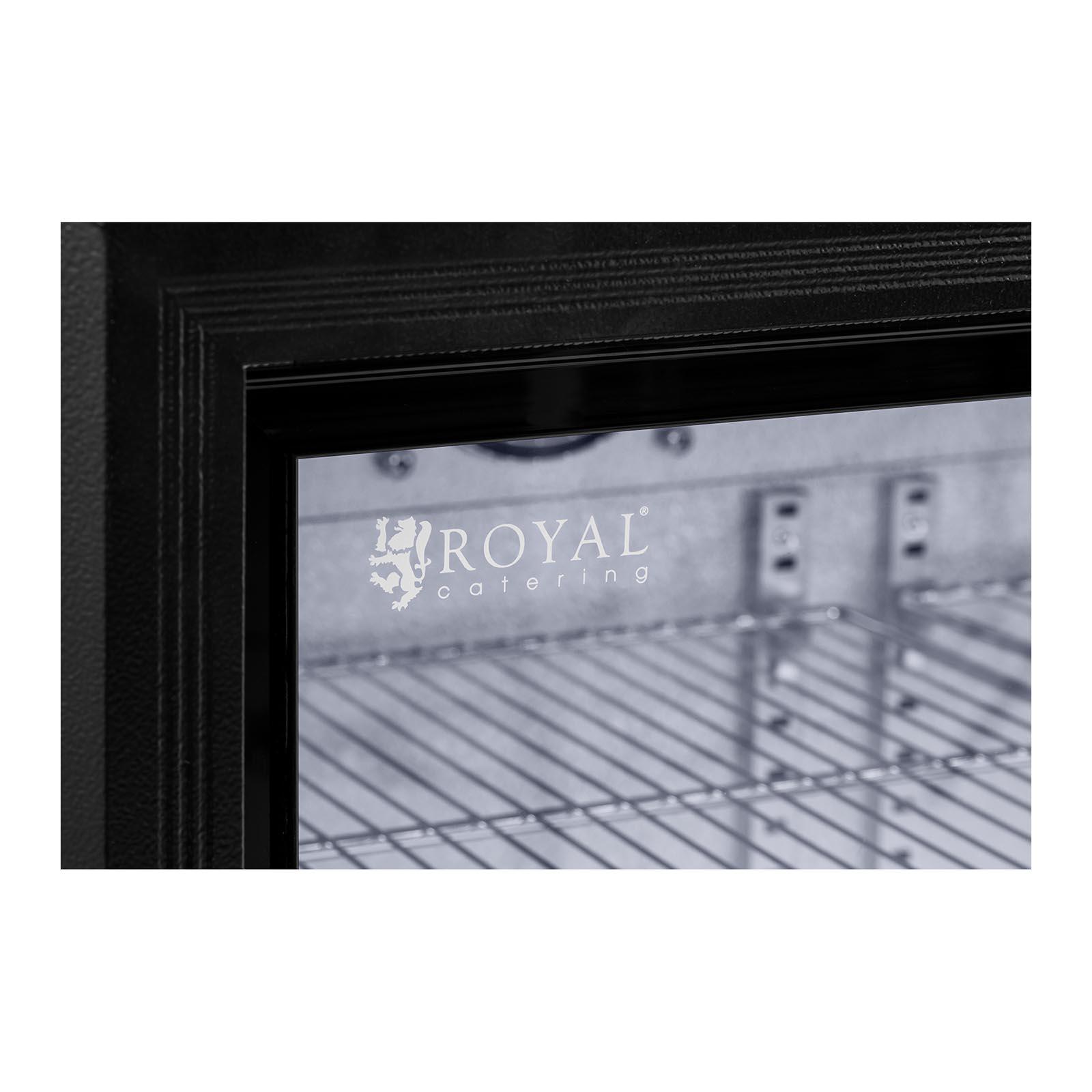 getr nkek hlschrank flaschenk hlschrank gastro k hlschrank glast r 323l schwarz ebay. Black Bedroom Furniture Sets. Home Design Ideas