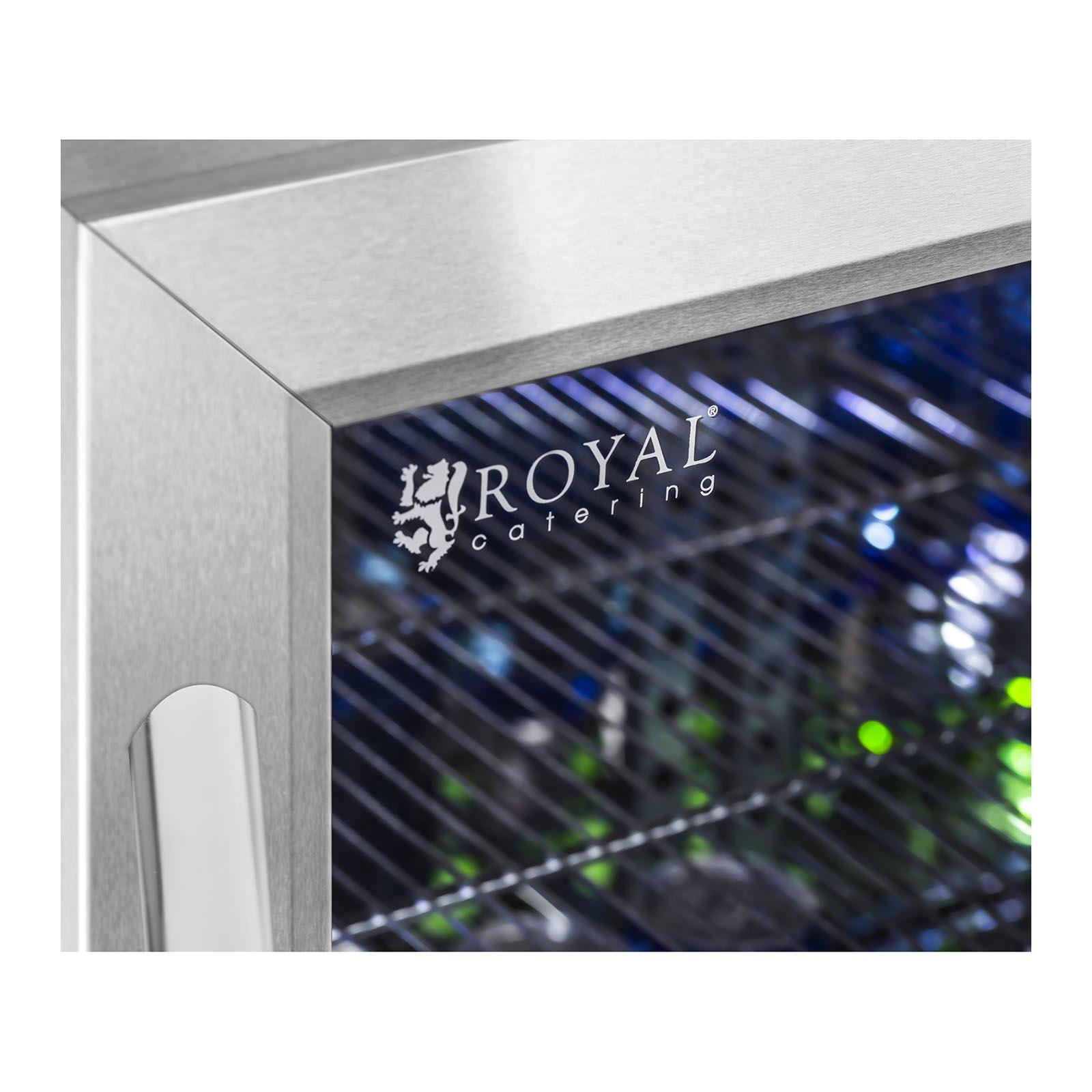 Mini Kühlschrank Getränkekühlschrank Flaschenkühlschrank Glastür ...