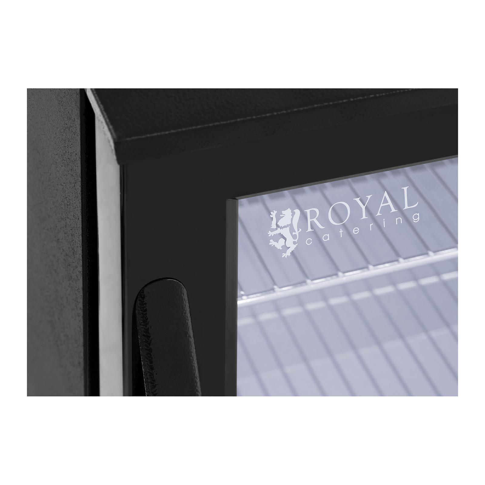 minibar k hlschrank getr nkek hlschrank flaschenk hlschrank glast r 138l schwarz ebay. Black Bedroom Furniture Sets. Home Design Ideas