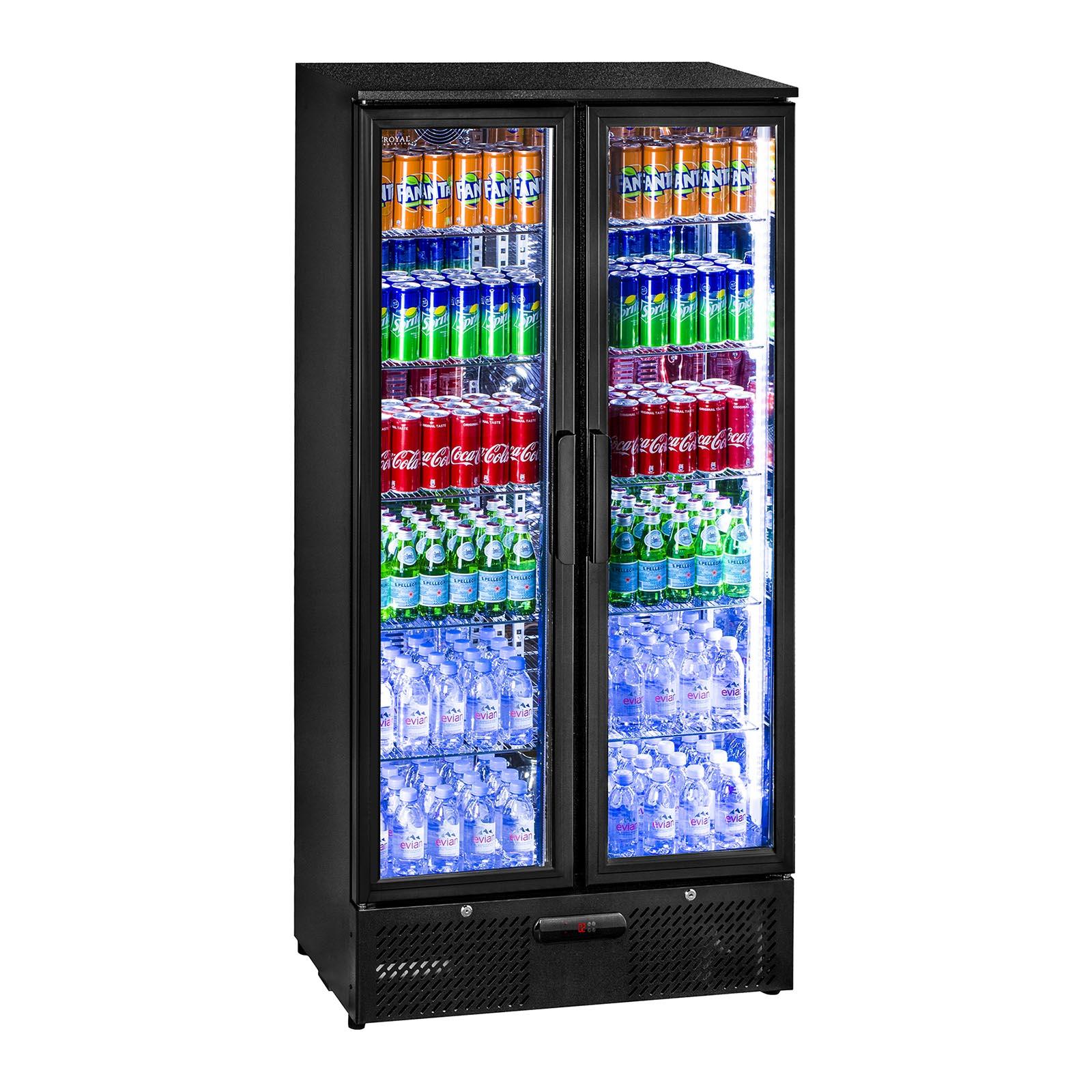 Getränkekühlschrank Flaschenkühlschrank Glastür Standkühlschrank ...