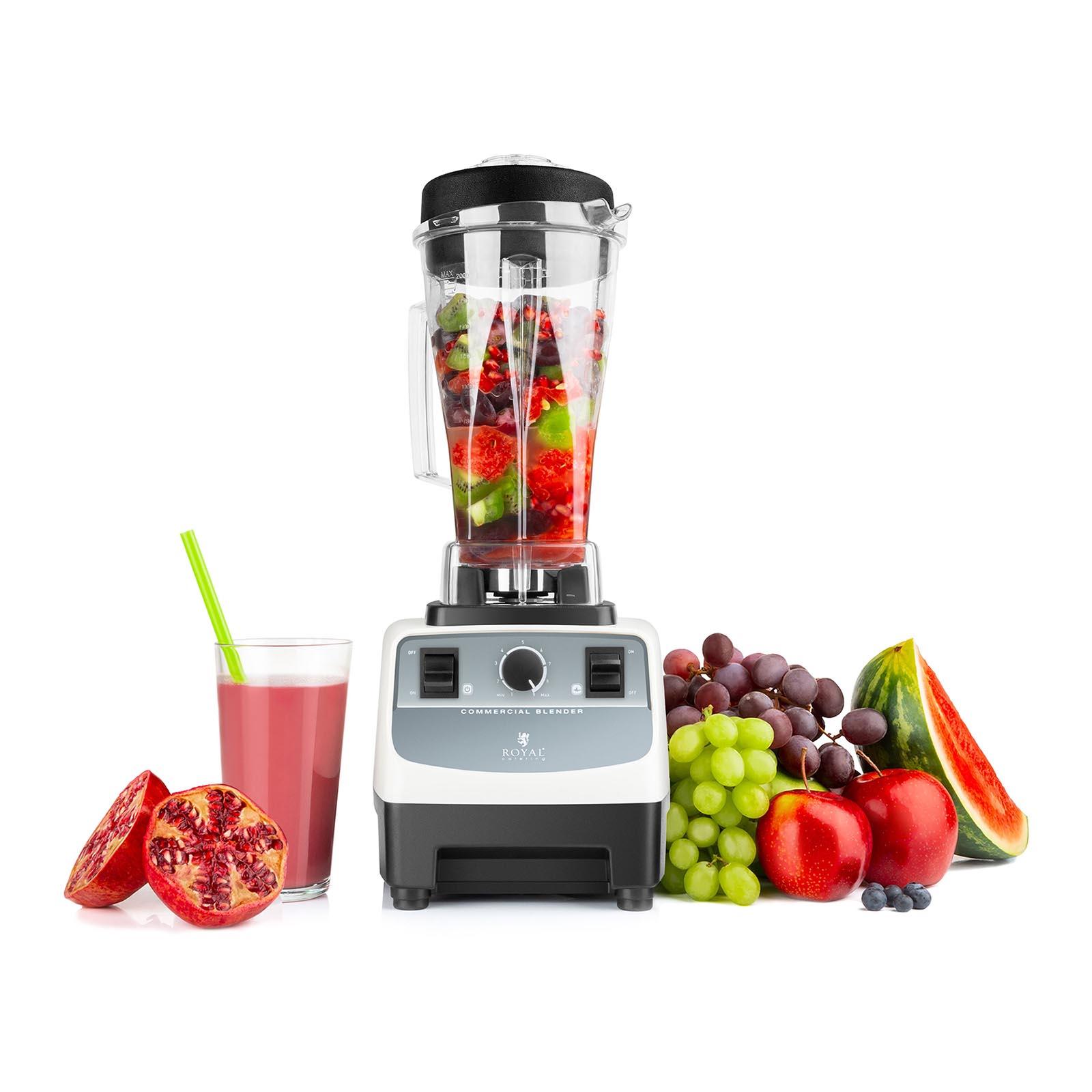 Robot Mixeur Mixer Blender Sur Pied Smoothie Glace Fonction Pulse 2 L 1500 W