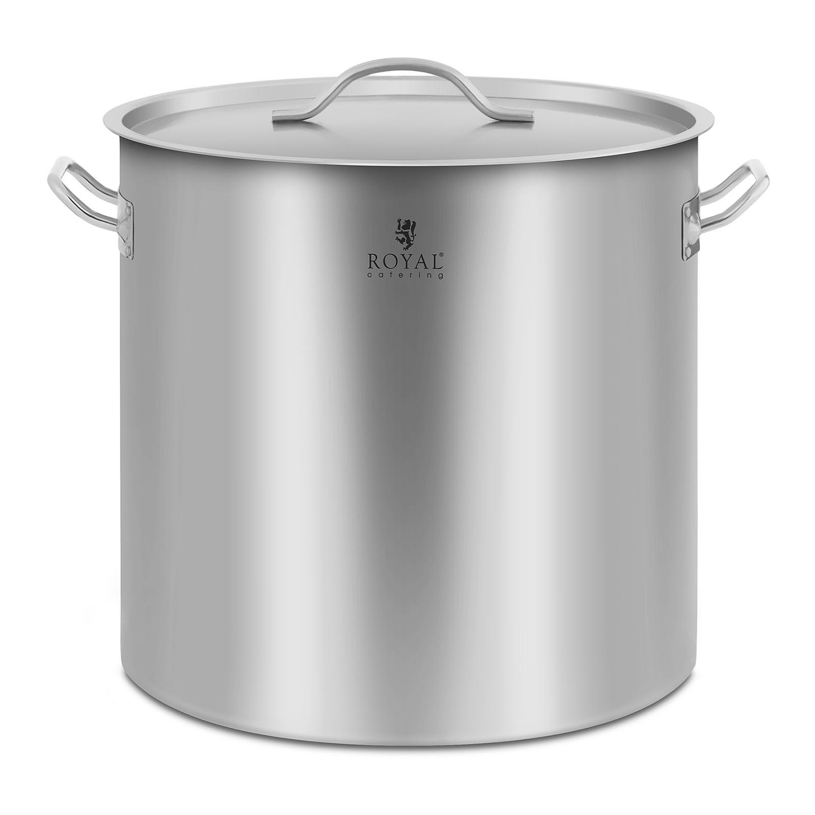 Comment Savoir Si Induction détails sur grande acier inoxydable cuisson marmite casserole couvercle  verre induction base