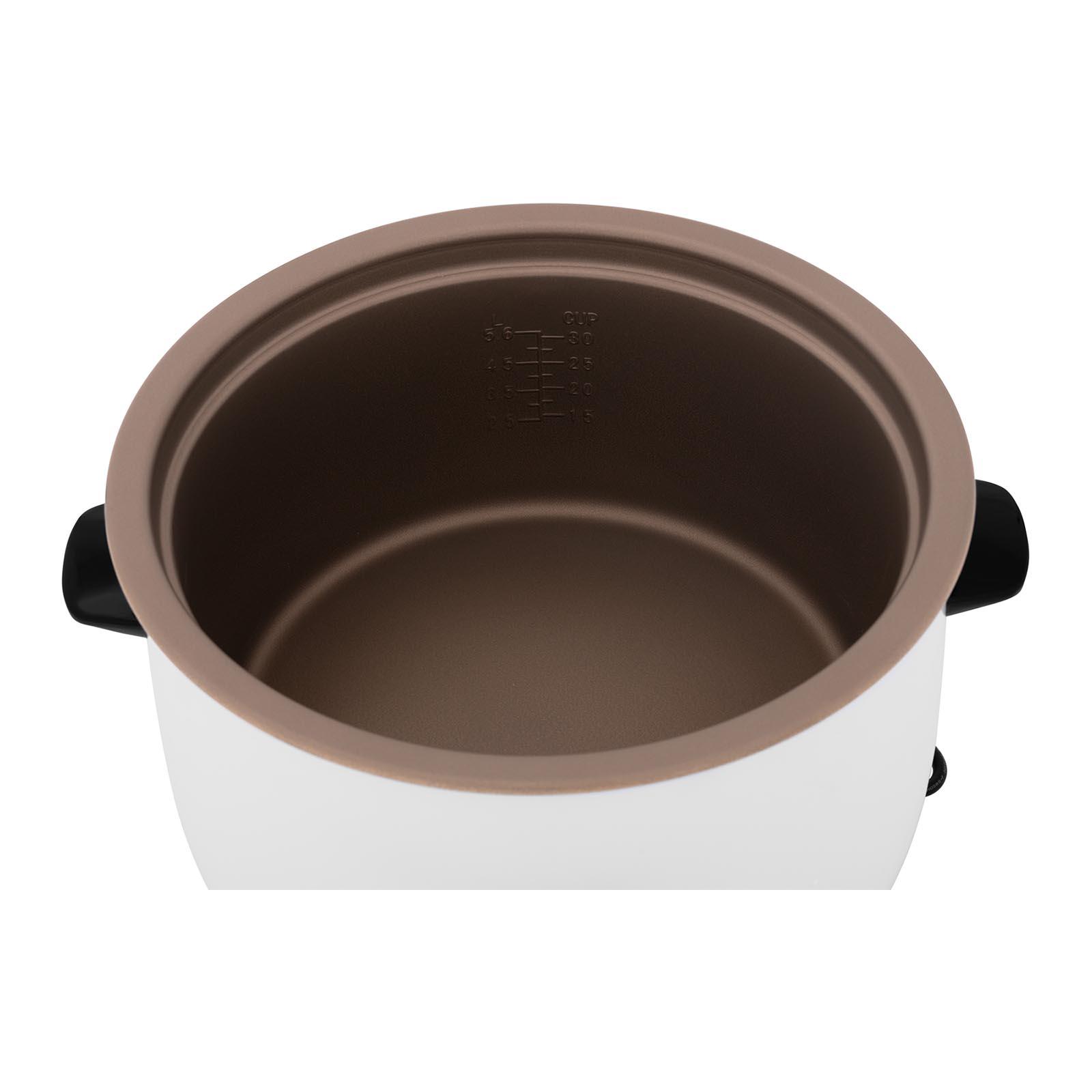 Gastro Reiskocher Elektrisch Dampfkocher Reiskochtopf Gemüsegarer 13 L 1.950 W