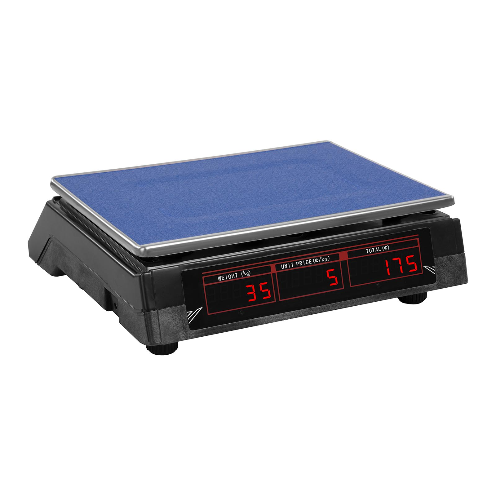 Steinberg Systems SBS-PW-302B Price Scale 30 kg // 2 g, Black, LED