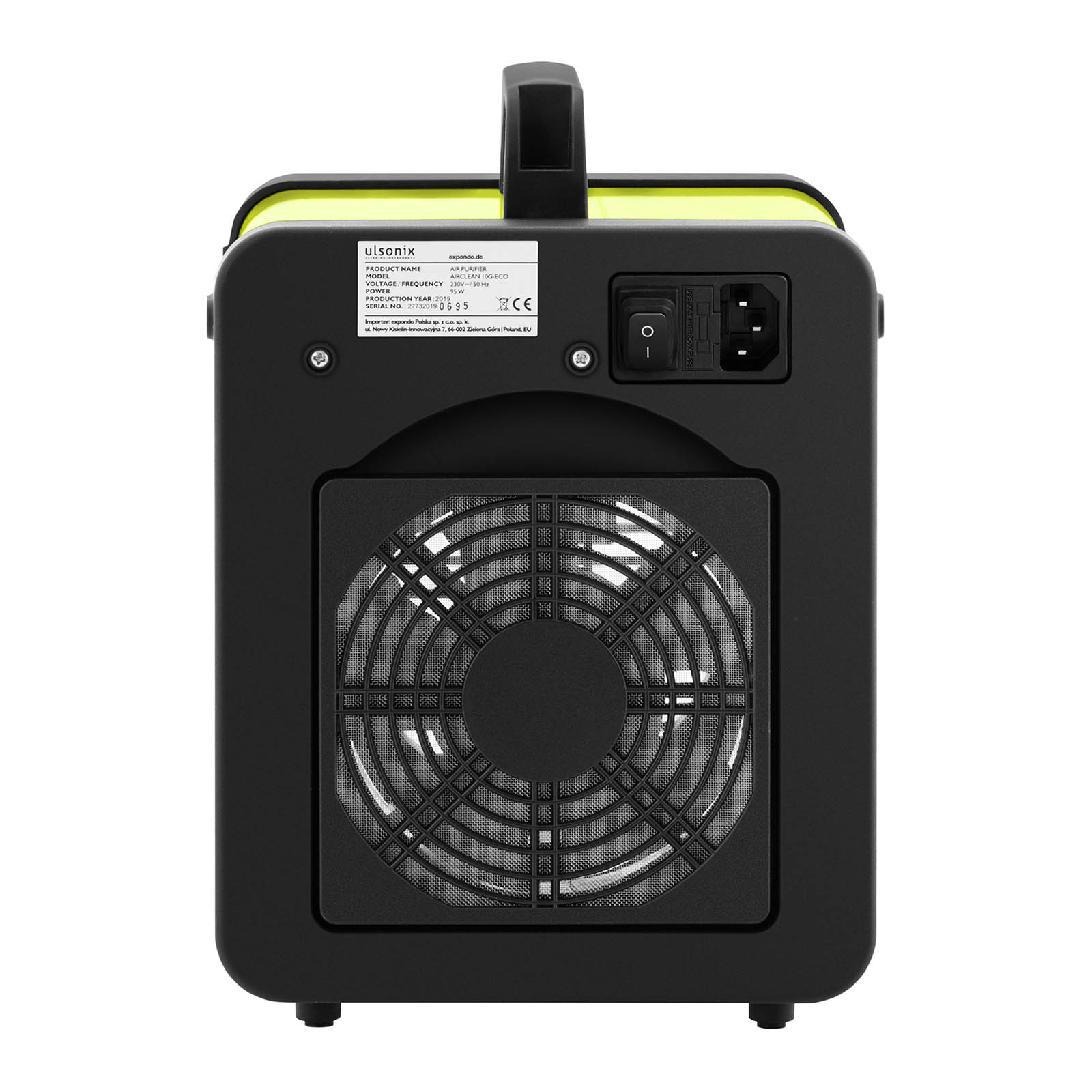 Le générateur d/'ozone professionnel produit 10.000mg//h d/'ozone purifie l/'air des