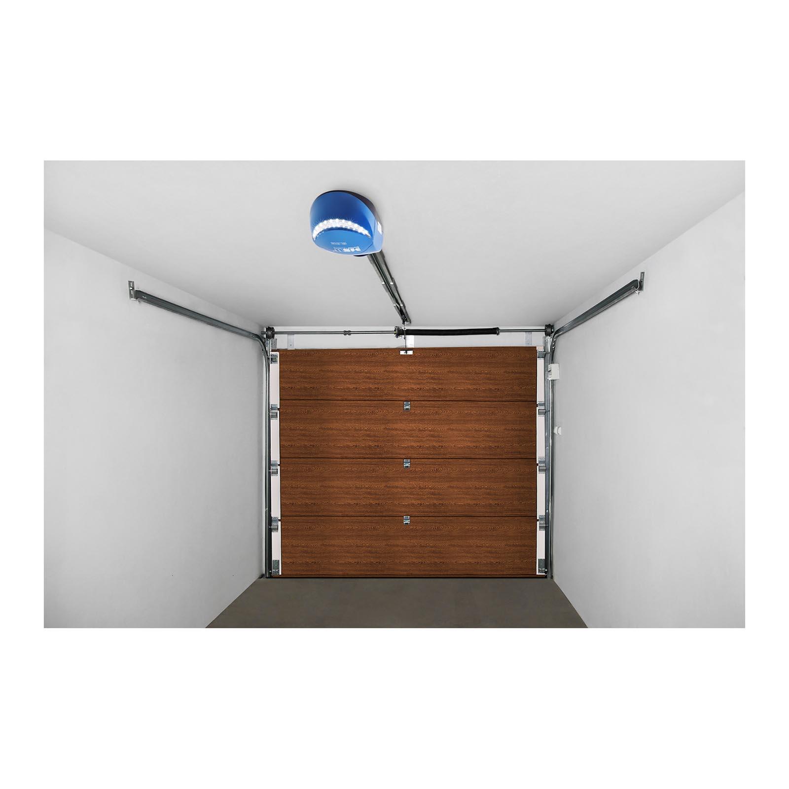 garagentor sektionaltor mit antrieb rolltor 3000 x 2125 mm eiche gold neu ebay. Black Bedroom Furniture Sets. Home Design Ideas