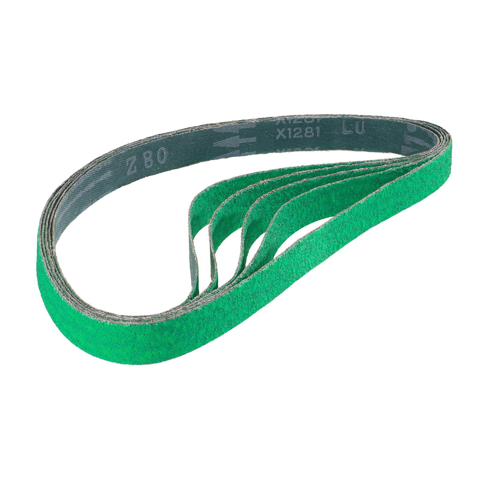 10 x Awuko Zirkonkorund Schleifbänder für MSW MSW-POL900L Rohrbandschleifer