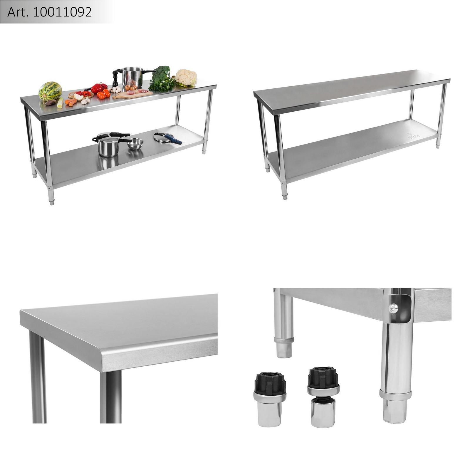 Edelstahl Gastro Arbeitstisch Tisch Edelstahltisch