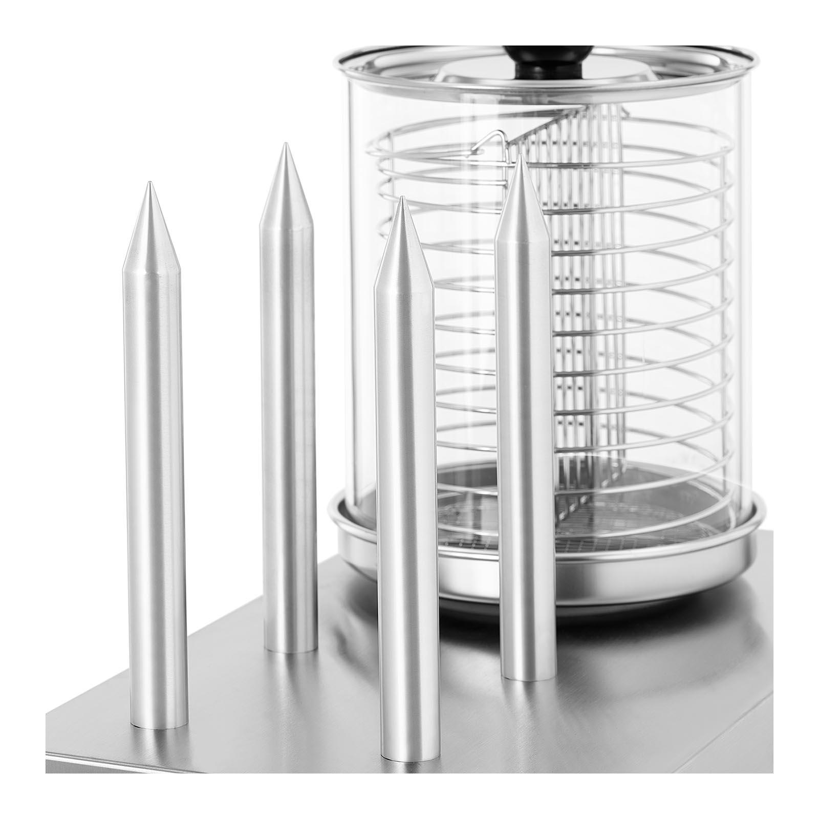 w rstchenw rmer 2300w hot dog ger t hotdog maker wurstw rmer edelstahl toaster ebay. Black Bedroom Furniture Sets. Home Design Ideas