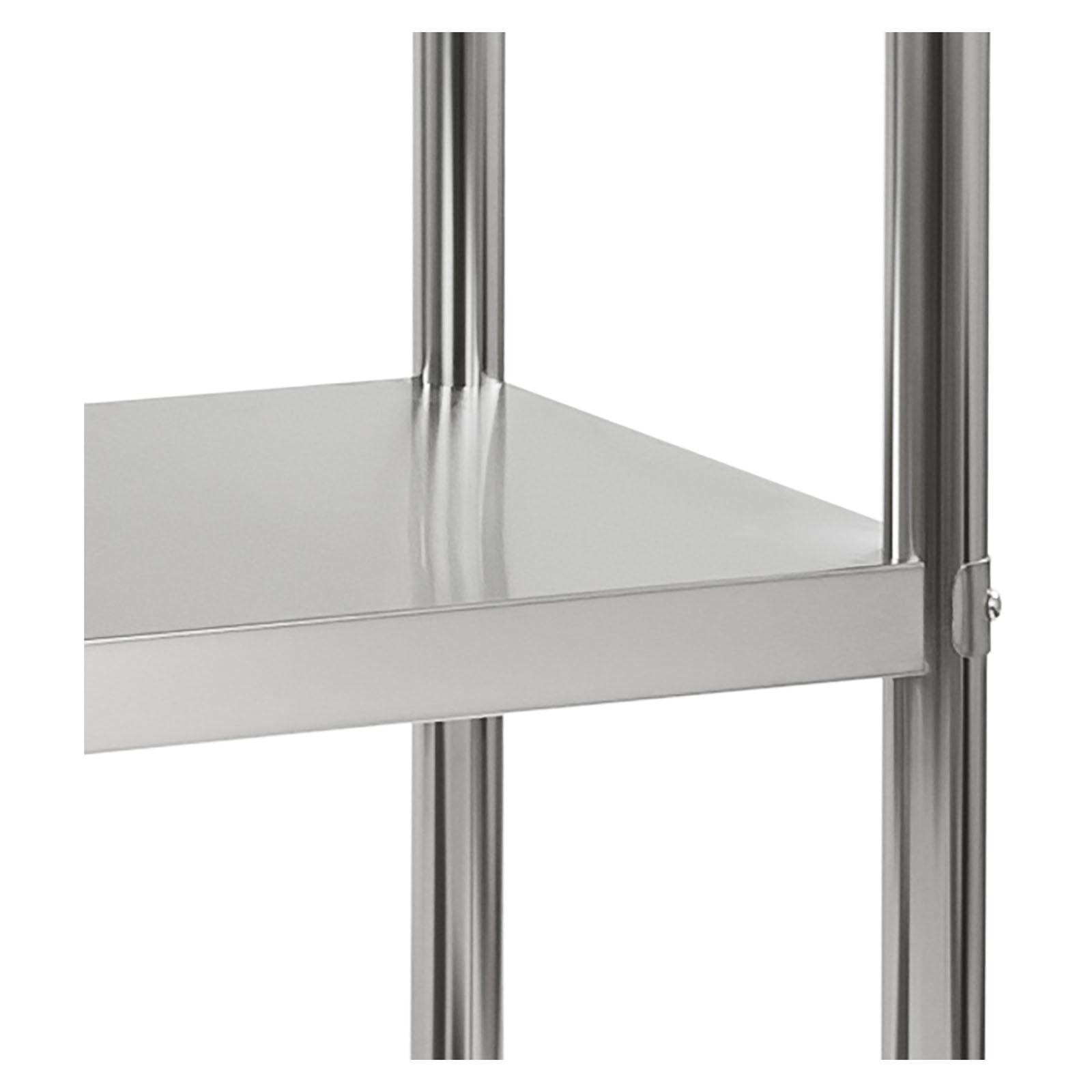 Stainless Steel Shelving Storage 4 Shelves Rack Shelf 120