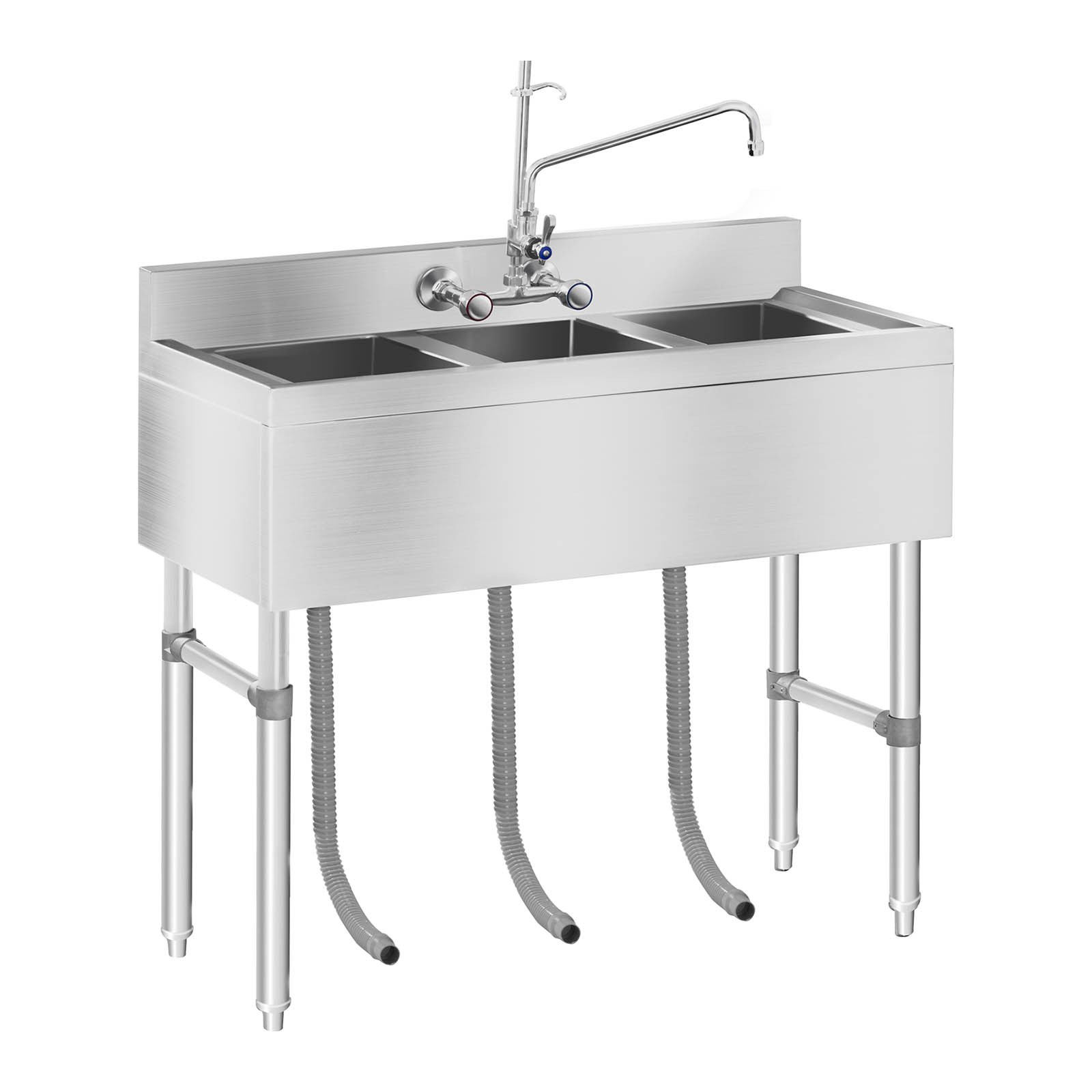 big kitchen sink sink large kitchen sink unit 3 basin stainless 1653