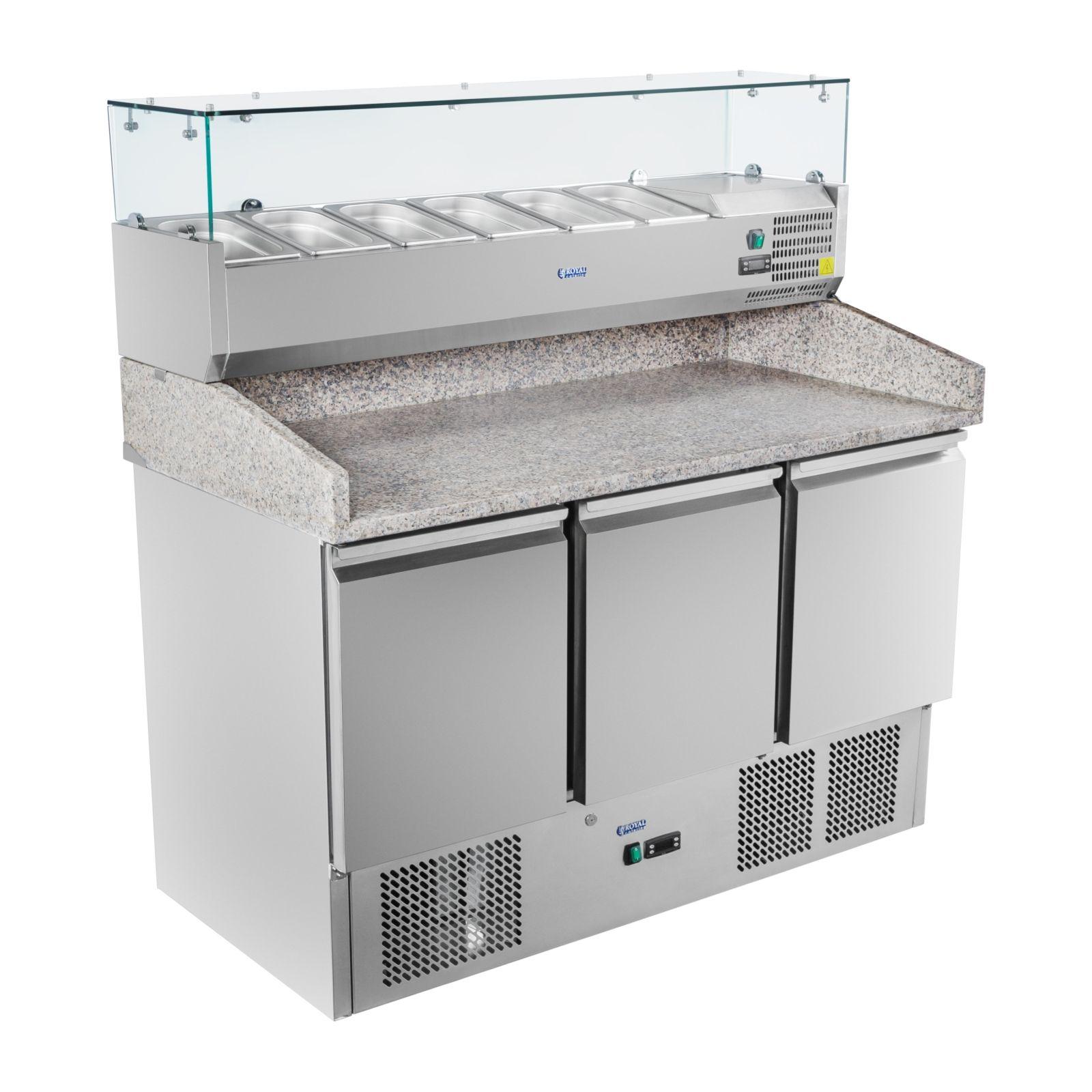Schienenset für Kühltische und Saladetten Schienen Set Zubehör Gastro Bar Restau