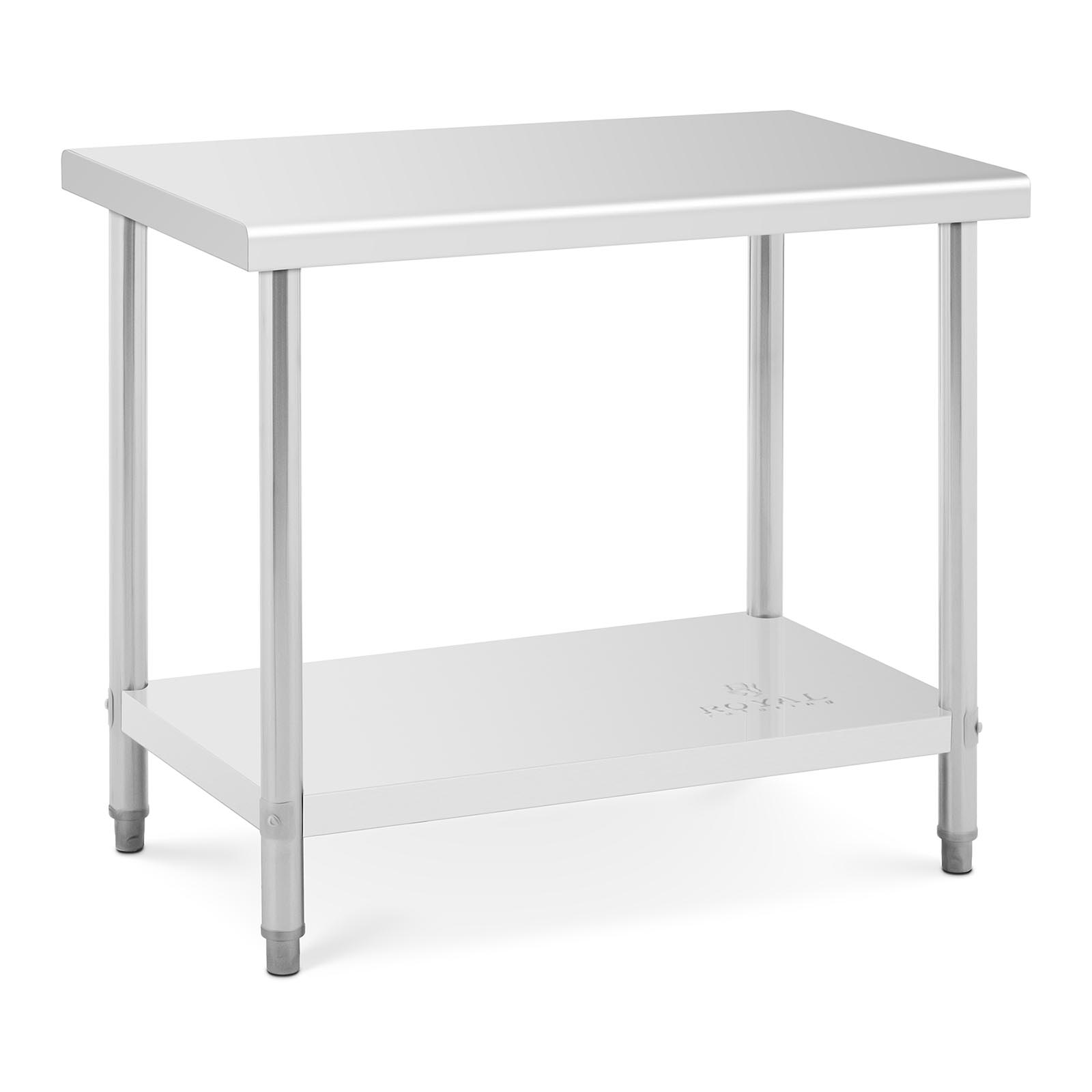 Commercial Stainless Steel Catering Work Table Kitchen ...