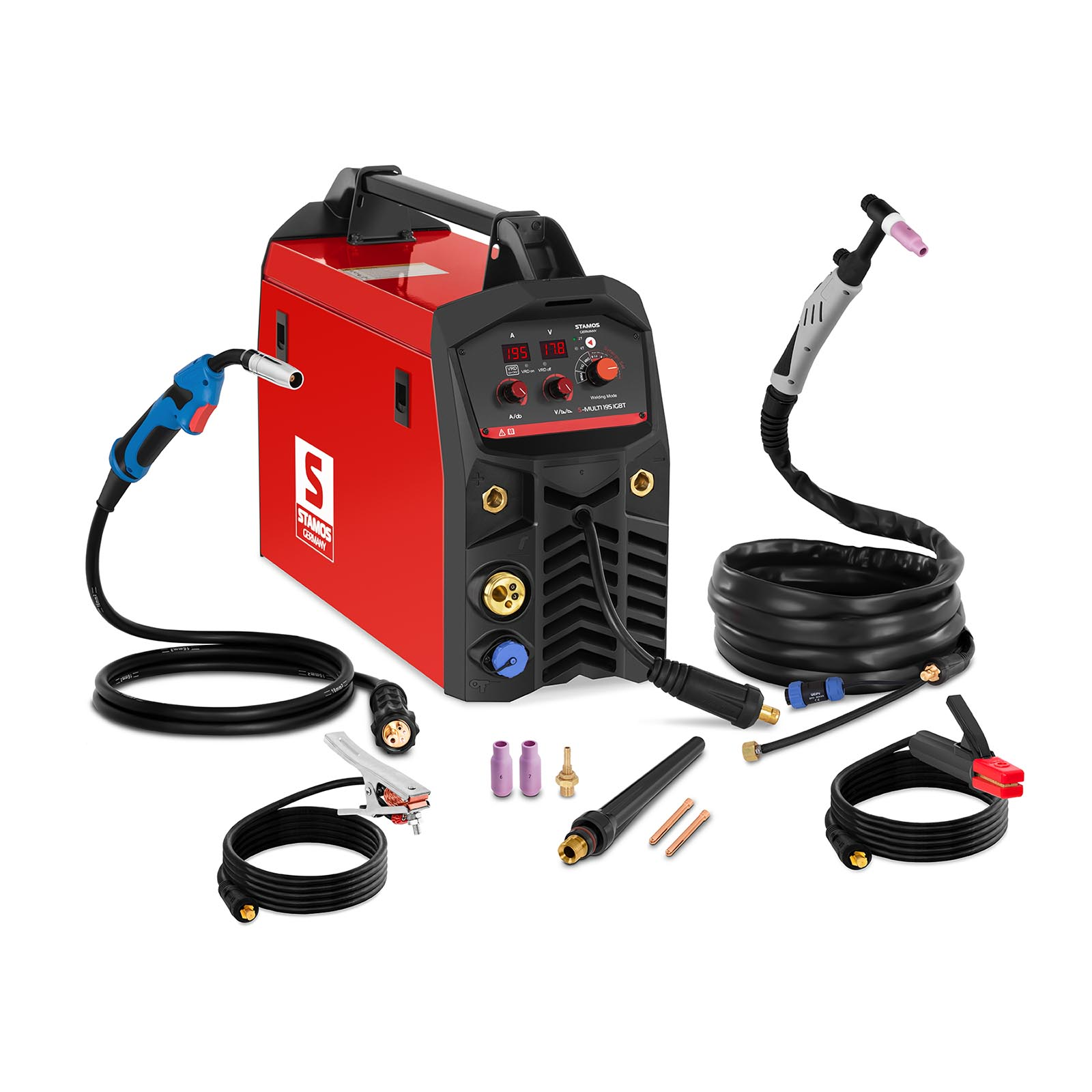 combi welder machine combination welding machine mig mag tig mma fcaw 230v 29a ebay