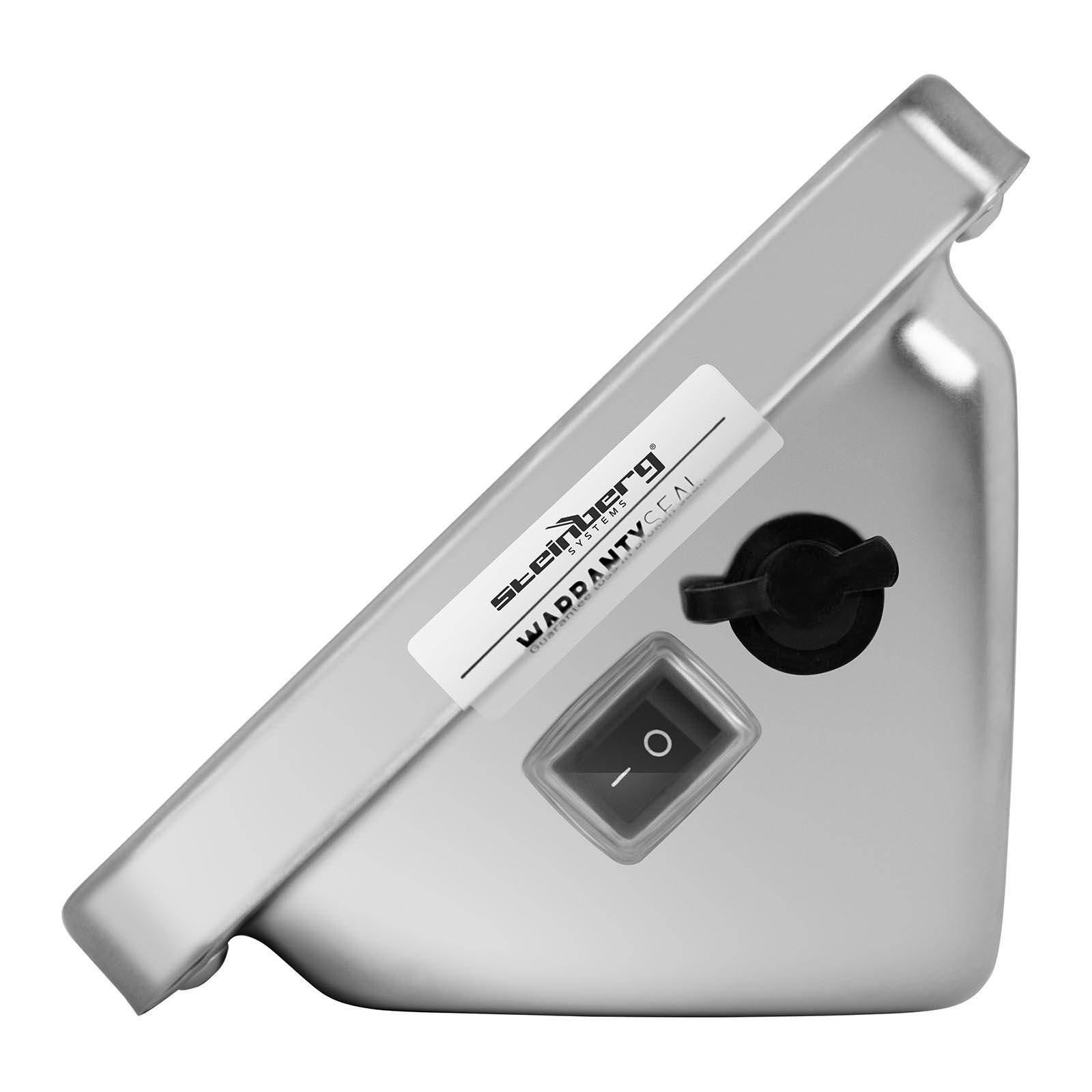 Steinberg Systems Plattformwaage Bodenwaage Industriewaage Digitalwaage Wireless SBS-PF-A150//20 Wireless 150 kg // 20 g, Wiegefl/äche 42 x 52 cm, LCD Display