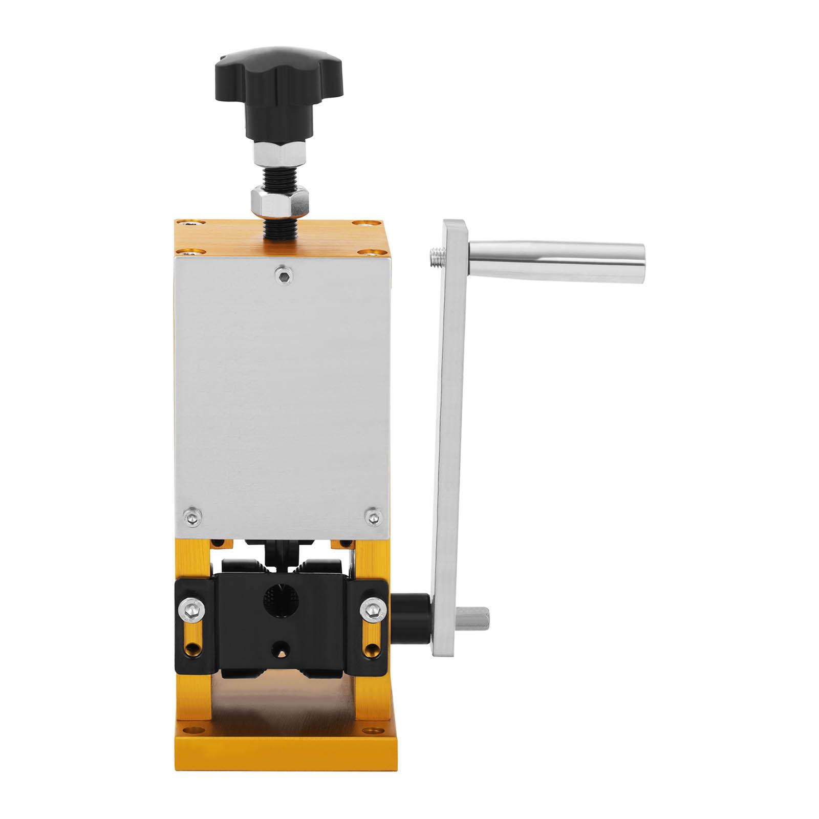 1 trou, 1,5-25mm, acier MSW Machine /à D/énuder de Table Manuelle MSW-WS-006