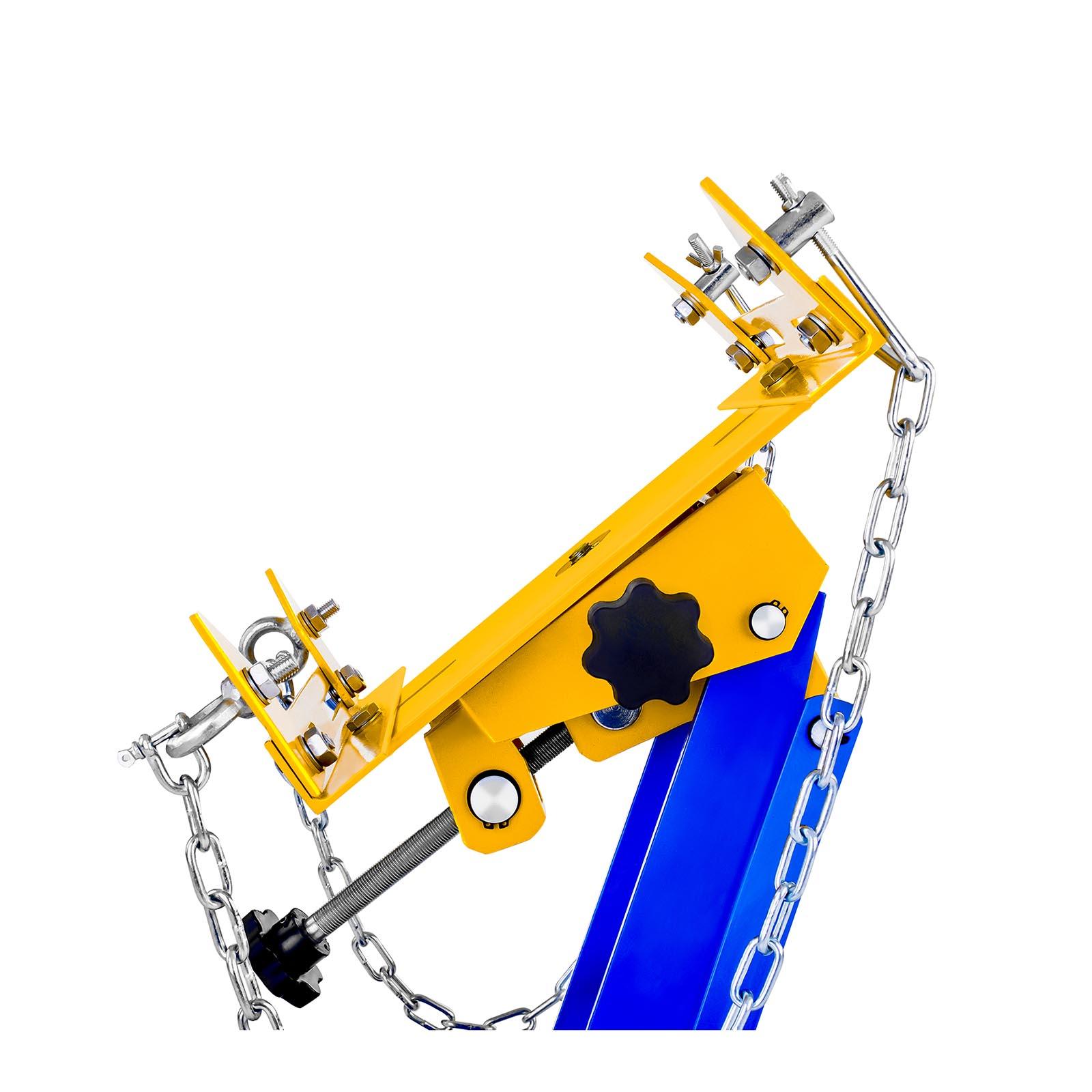 Cric sollevatore idraulico a carrello fino a 500kg for Cric idraulico a carrello professionale prezzi