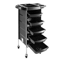 arbeitswagen rollcontainer rollregal bedienungswagen stapelboy 4 5 schubladen ebay. Black Bedroom Furniture Sets. Home Design Ideas