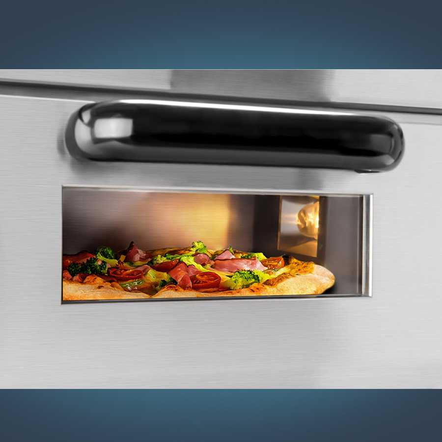 Forno per pizza 1 compartimento 2000 watt - Forno per pizza casalingo ...